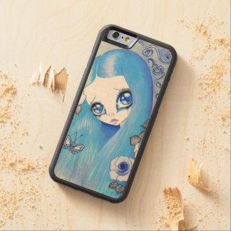 "Goth Girl : ""Christine"" Carved® Maple iPhone 6 Bumper Case"