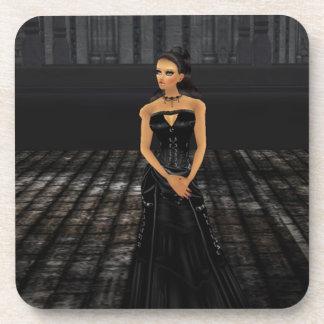 Goth Girl Coasters