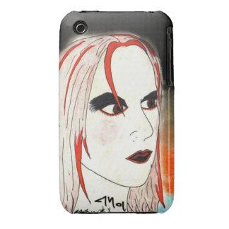 Goth Girl iPhone 3 Case