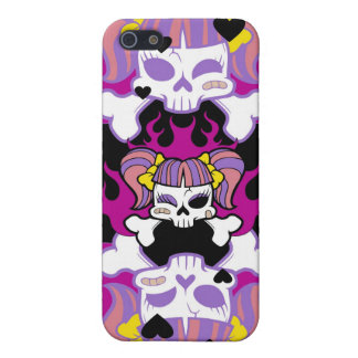 GOTH GIRL iPhone SE/5/5s COVER