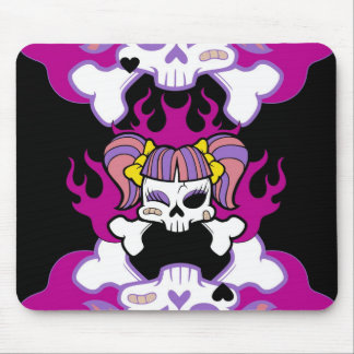 GOTH GIRL MOUSE PAD