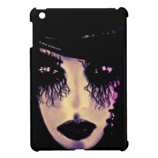 GOTH GIRL ( PURPLE TONES) Ipad  case iPad Mini Cover