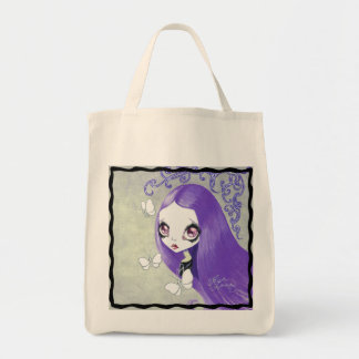 "Goth Girl: ""Violetta"" Tote Bag"