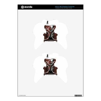 Goth Girl with Raven Xbox 360 Controller Skin