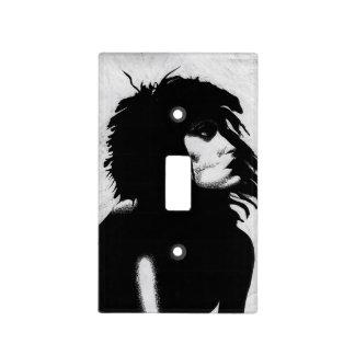 Goth Goddess Portrait Original Art Switch Cover