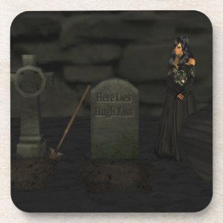 Goth Graveyard Coasters