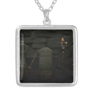 Goth Graveyard Necklace