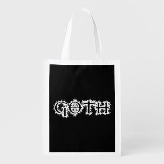 Goth Grocery Bag