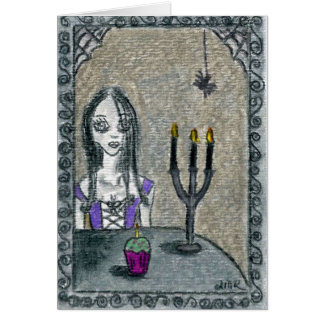 Goth Halloween Greeting Cards
