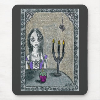 Goth Halloween Mouse Pad