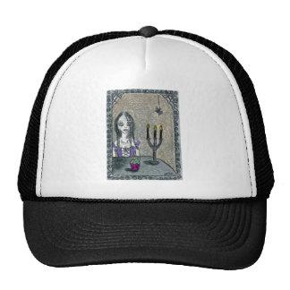 Goth Halloween Trucker Hat
