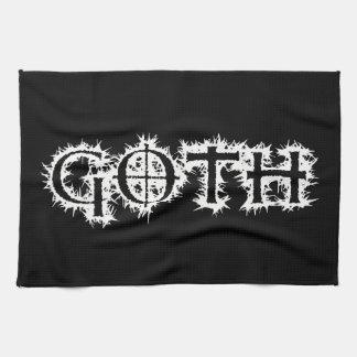 Goth Hand Towels