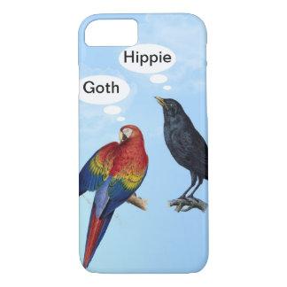 Goth Hippie Funny iPhone 7 case