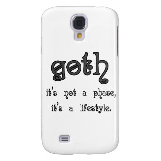 Goth: It's not a phase, it's a lifestyle Galaxy S4 Cover