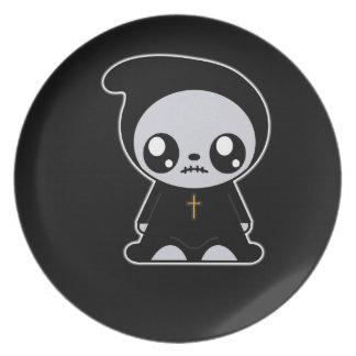 Goth Kawaii Party Plate