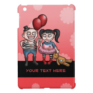 Goth Kids with Red Balloons iPad Mini Cases