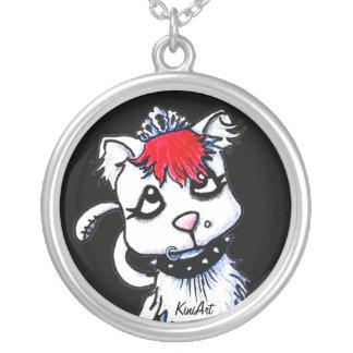 Goth Kitten Necklace