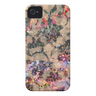 Goth Lace Roses iPhone 4 Case-Mate Cases