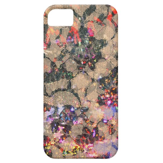 Goth Lace Roses iPhone SE/5/5s Case