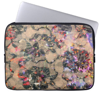 Goth Lace Roses Laptop Sleeves