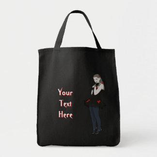 Goth Loli Tote Bag
