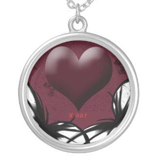 Goth Love Neclace Pendants