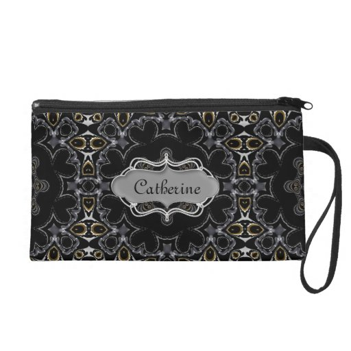Goth Medieval Geometric Pattern Personalized Bags