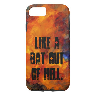 Goth Metal Musicians Flames CricketDiane Bats Hell iPhone 7 Case