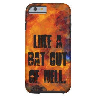 Goth Metal Musicians Flames CricketDiane Bats Hell Tough iPhone 6 Case