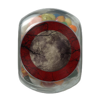 Goth Moon Jelly Belly Candy Jars
