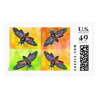 Goth Moth 4 postage