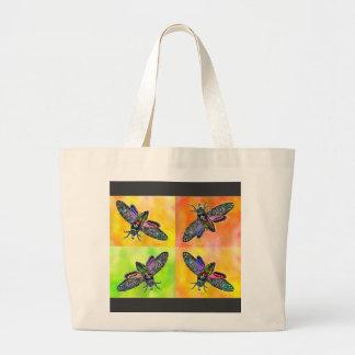 Goth Moth 4 tote bag