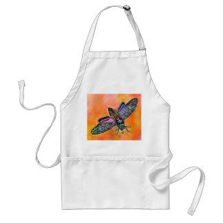 Goth Moth apron
