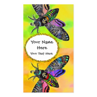 Goth Moth calling card