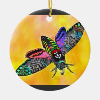 Goth Moth ornament