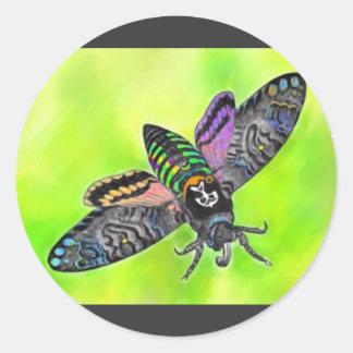 Goth Moth sticker