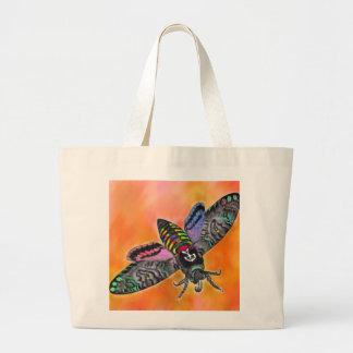 Goth Moth tote bag