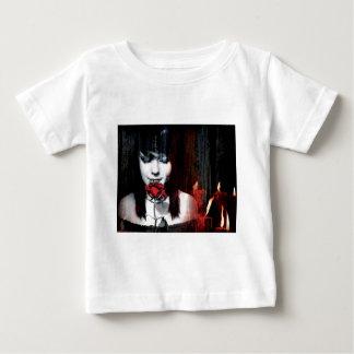 goth pierced girl baby T-Shirt