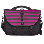 Goth Pink and Black Bunny Computer Bag