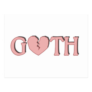 Goth Postcard