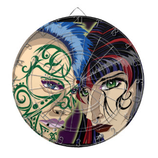 Goth/Punk Dart Boards