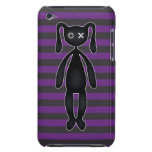 Goth Purple and Black Bunny iPod Case-Mate Case