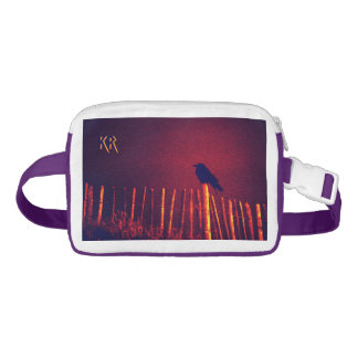 Goth Quoth The Raven Under Midnight Sky, Initials Waist Bag