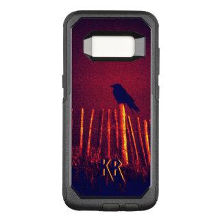 Goth Quoth The Raven Under Midnight Sky, Monogram OtterBox Commuter Samsung Galaxy S8 Case