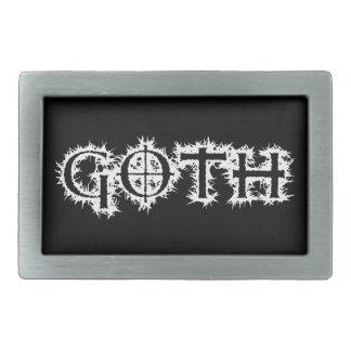 Goth Rectangular Belt Buckle