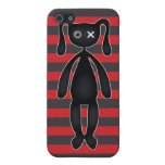 Goth Red and Black Bunny Covers For iPhone 5