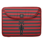 Goth Red and Black Bunny MacBook Pro Sleeve