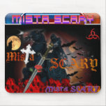 Goth Scene Grim Reaper Sword M.S. Logo Mousepad