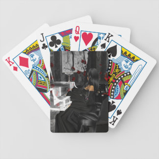 Goth Scene Playing Cards