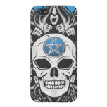 Goth Skull - Blue iPhone SE/5/5s Case